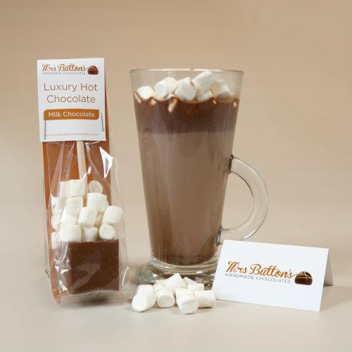 Luxury hot chocolate sticks