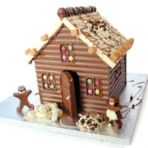 DIY chocolate house